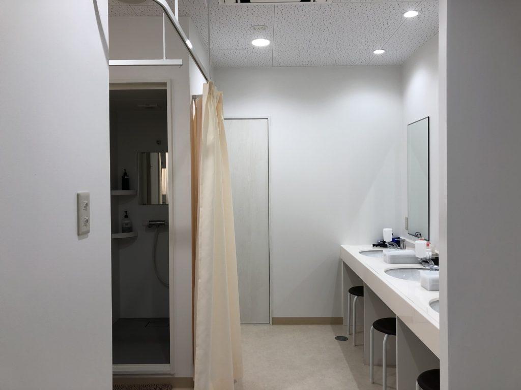 シャワー/パウダールーム